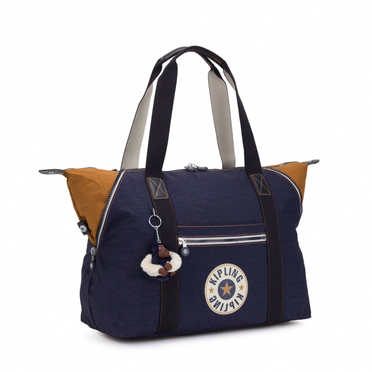 12c1c534a0 Kipling Art M Medium Travel Tote. The Art M is a fantastic medium-sized travel  bag that is very versatility. There are unique zips that allow the bag to  be ...