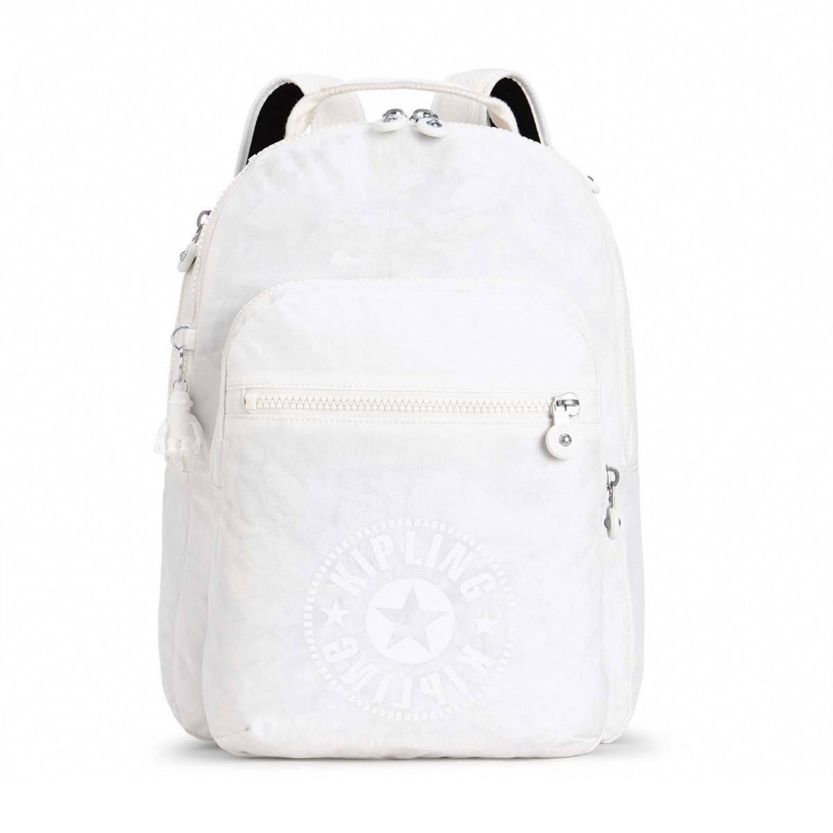 56cfb1b90 Kipling Clas Seoul Backpack - Getmethatbag.co.uk Lively White