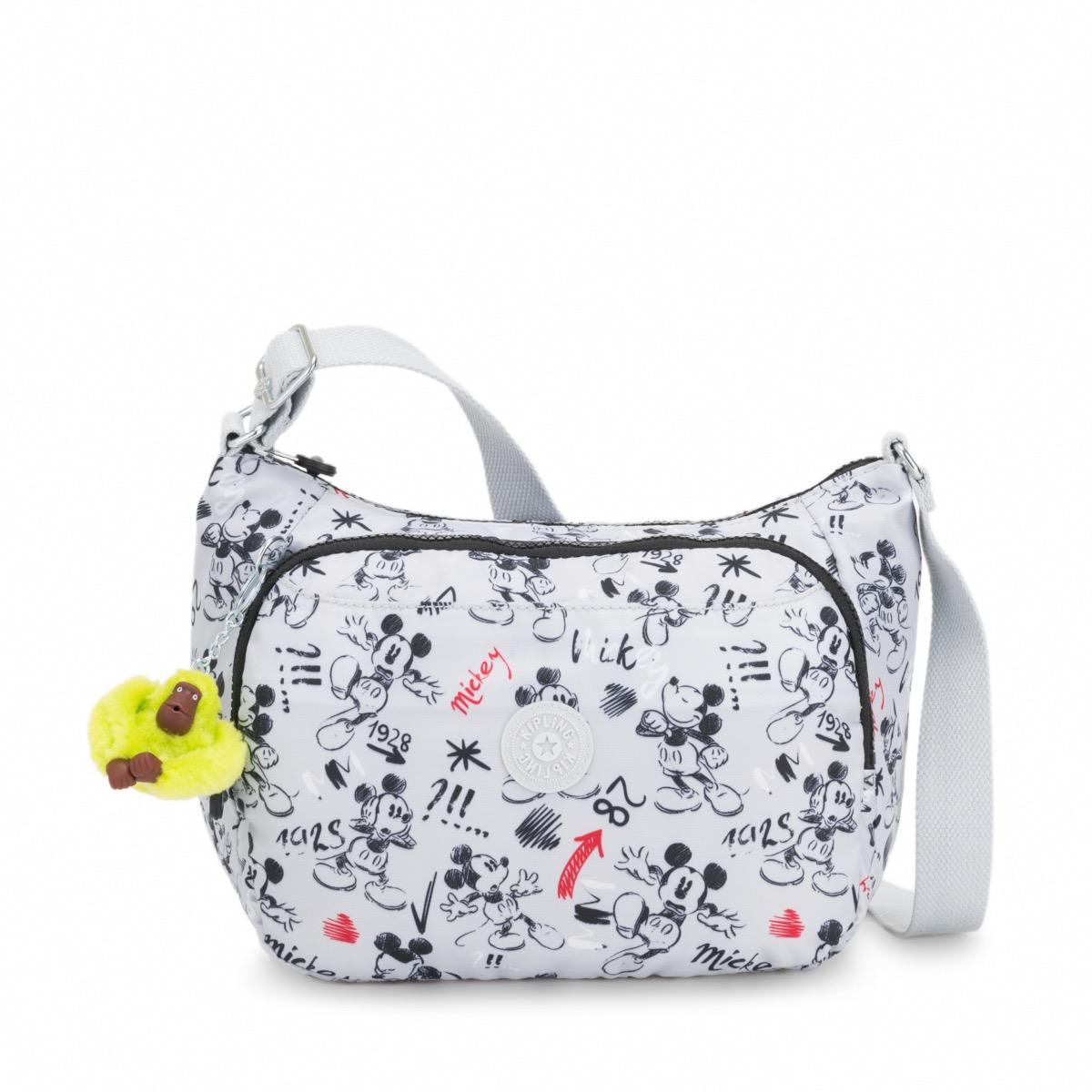 2ad4c75193 Kipling Disney D Cai Medium Crossbody Bag Sketch Grey