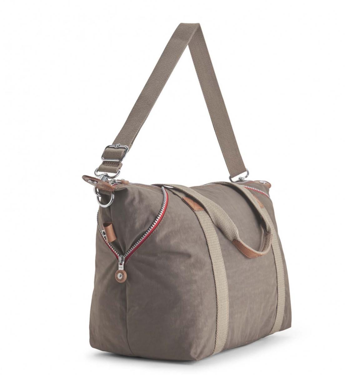 b76806ad97032 Kipling Art Large Travel Tote and Shoulder Bag True Beige C
