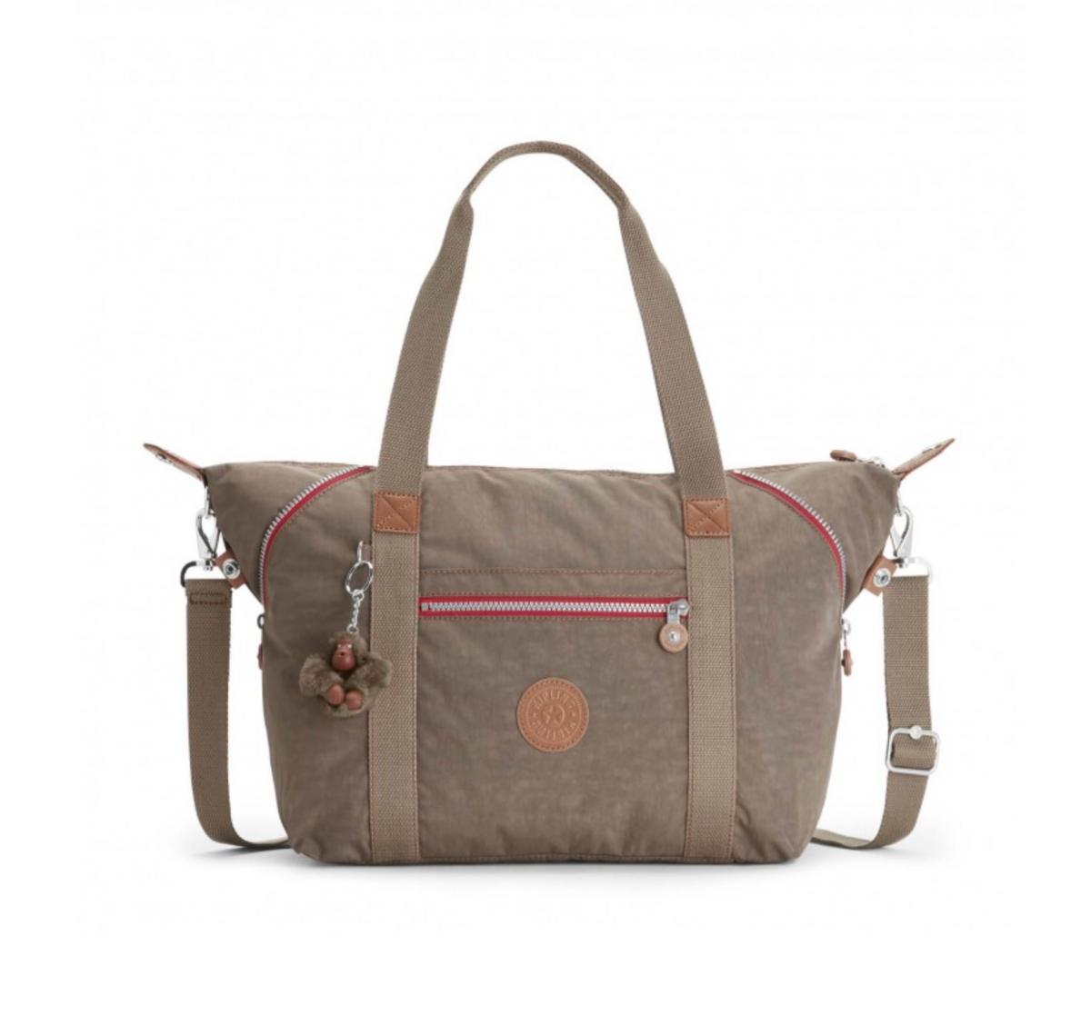 Kipling Art Large Travel Tote and Shoulder Bag True Beige C fe0ebc7c3130d