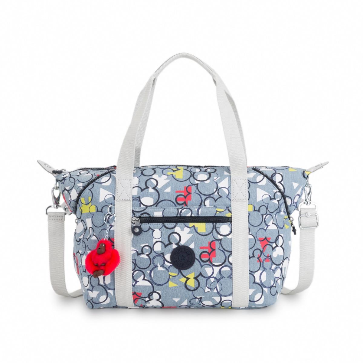 724a9f1feffe Kipling Disney D Art Medium Tote Bag with removable shoulder strap in  Threecheer
